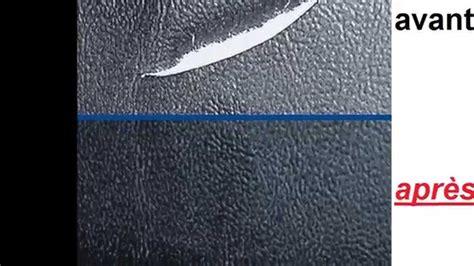 reparer griffe de sur canape en cuir réparer cuir rénover cuir atg005 voiture entretien