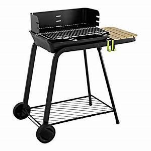 Barbecue Cuve En Fonte : barbecue charbon de bois sirocco castorama ~ Nature-et-papiers.com Idées de Décoration