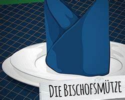 Servietten Falten Bischofsmütze : servietten falten leicht gemacht 3 ideen f r die tischdeko ~ Yasmunasinghe.com Haus und Dekorationen