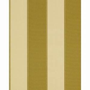 Papier Peint Rayé : papier peint de luxe n o baroque edem 771 31 ray vert olive jaune verte bronze ~ Melissatoandfro.com Idées de Décoration