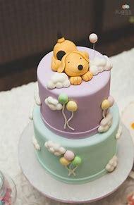 Puppy Dog Themed Birthday Cake