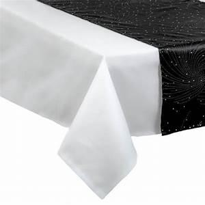 Chemin De Table Design : chemin de table design noir nappe et chemin de table de f te eminza ~ Teatrodelosmanantiales.com Idées de Décoration