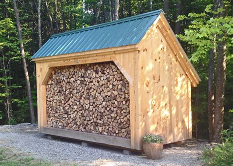 firewood storage shed for 6x14 woodbin post beam firewood storage shed kit easy to
