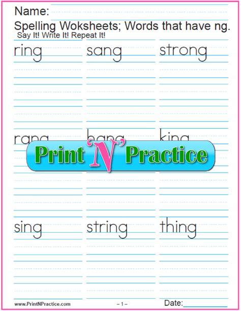 phonics worksheets practice phonics words copywork