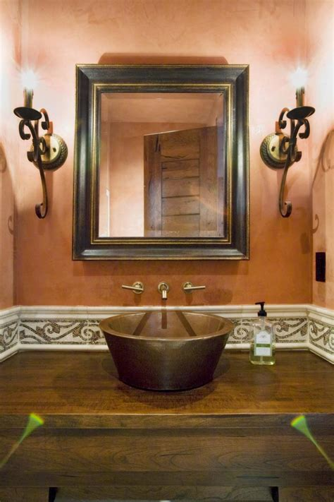create rustic bathroom mirrors design  decor