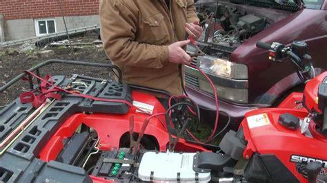 2006 Polari Sportsman 450 Fuse Box by Three Ways To Fix A Dead Atv Battery Auto Sasap