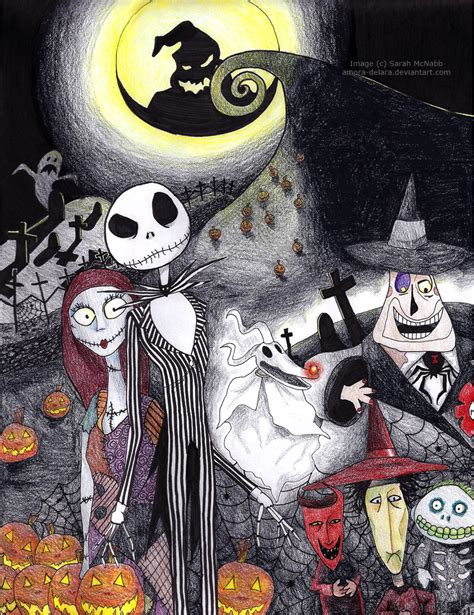 Best Nightmare Before Christmas Characters Ideas And Images On