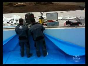Poolfolie Verlegen Anleitung : einh ngen der schwimmbadfolie youtube ~ A.2002-acura-tl-radio.info Haus und Dekorationen