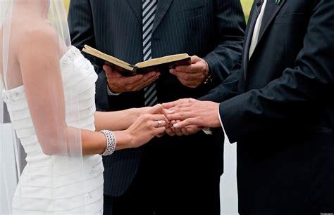 wedding vows catholic jewish presbyterian church standards