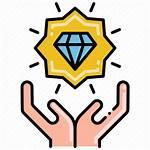 Value Proposition Unique Icon Finance Icons Internet
