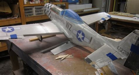finishing  foam arf rc scale airplanes rcmodel