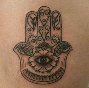 Pin Chamsa Jewish Symbol Tattoo on Pinterest
