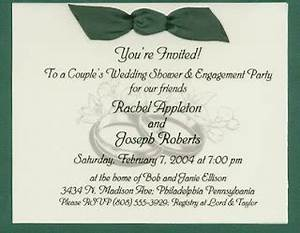 kela salvador sample bridal shower wording With examples of wedding shower invitations wording