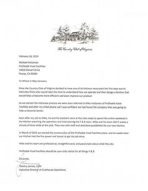 testimonials  letters  recommendation profitable
