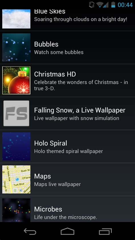 Android Live Wallpaper Animation Tutorial - creating live wallpapers on android