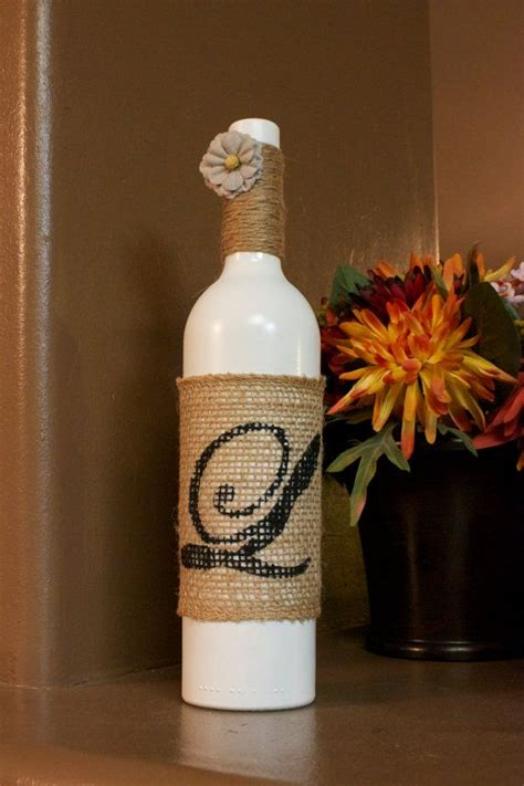 Decorative Wine Bottles For Wedding by Handmade Personalized Decorative Wine Bottles