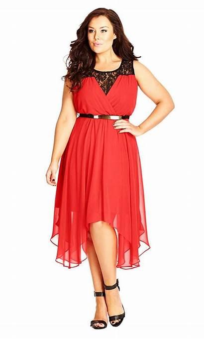 Dresses Chic Coral Chiffon Keyhole Layered Formal
