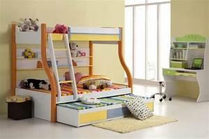 Drei In Einem Bett : kinderzimmer einrichten tolle ideen zum thema kinderzimmer f r zwei ~ Pilothousefishingboats.com Haus und Dekorationen