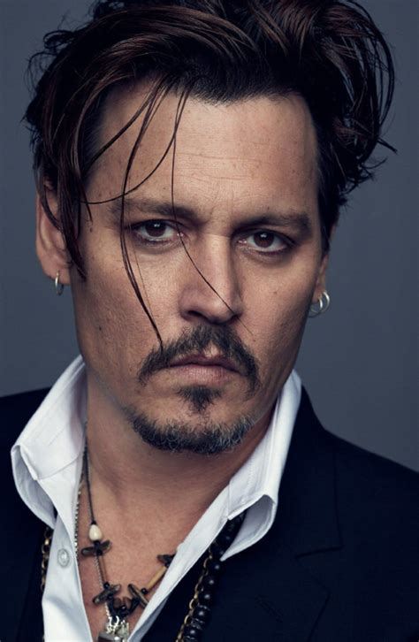 amazing johnny depp haircut  celebrity hairstyles