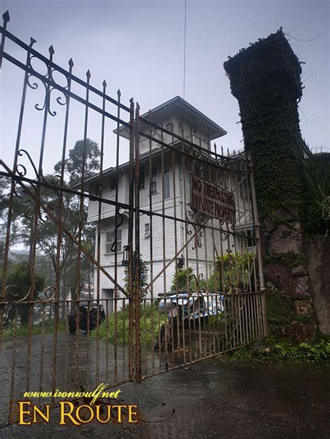 baguios famous haunts  laperal white house