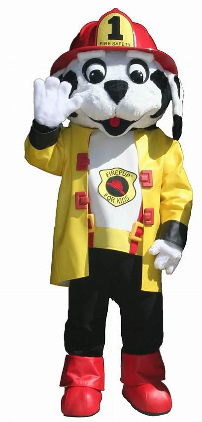Costume Mascot Fire Safety