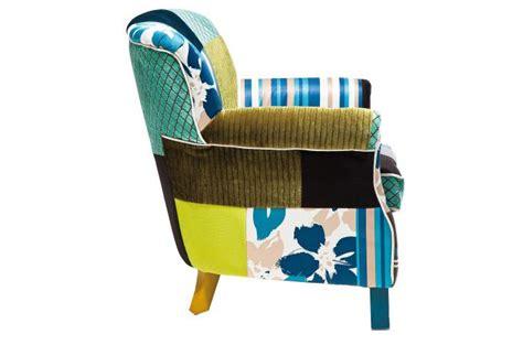 fauteuil r 233 tro patchwork fauteuil design pas cher