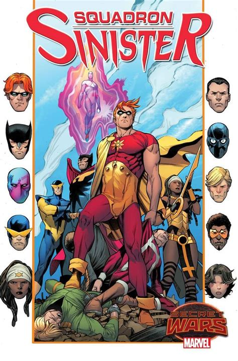 squadron supreme squadron sinister 1 variant cover hyperion nighthawk