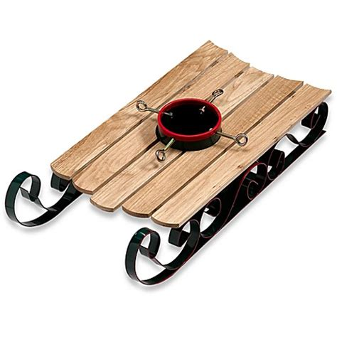 sled tree stand bed bath beyond
