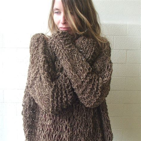 oversized sweater brown grunge oversized sweater 2 3 left in this shade