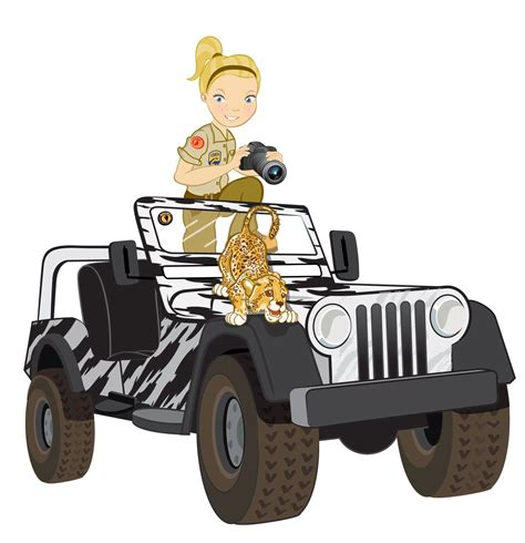 safari jeep cartoon 1000 images about preschool africa theme craft on