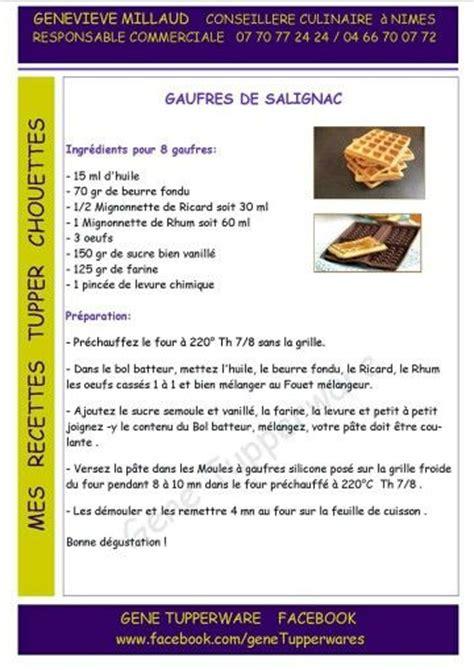 recette de cuisine tupperware 17 best images about tupperware gaufres on