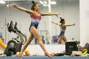Level 3 Gymnastics Floor Routine 2017 by St Paul Hmong American Gymnast Leaps Toward Her Olympic