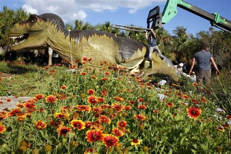 naples botanical gardens dinosaurs taking naples botanical garden