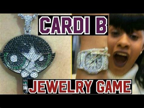 cardi b video game new jewelery game cardi b youtube