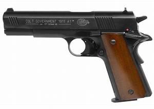 Colt 1911 Pellet Gun Co2 Wood Grips