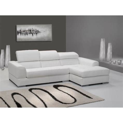 canapé cuir blanc pas cher photos canapé d 39 angle cuir blanc pas cher