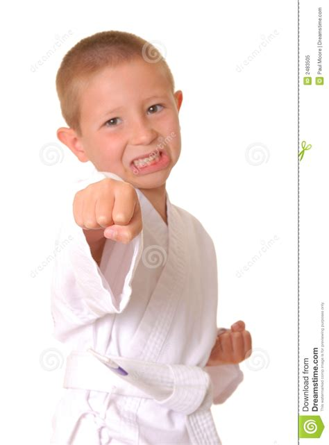 karate boy stock image image  youth young child