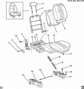 Ck310 314 Seat  Split 60  40 Low