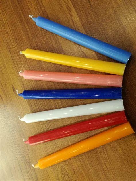 candele steariche candele steariche standard chakra stones emporio