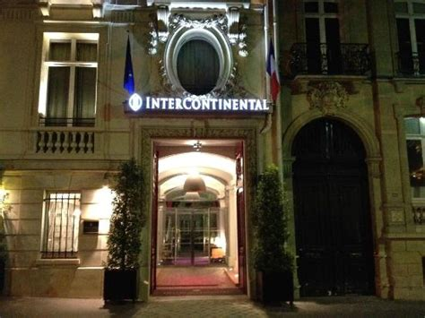 Front Of Hotel  Picture Of Intercontinental Parisavenue. Aston Marina Hotel. Hotel Ponte Di Rialto. Sheraton Hanoi Hotel. Art Hotel Niebieski