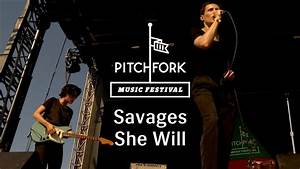 "Savages - ""She Will"" - Pitchfork Music Festival 2013 ..."