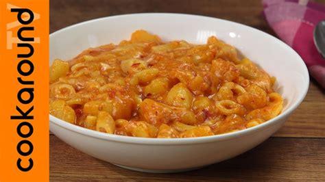 pasta patate nduja e caciocavallo ricette primi piatti