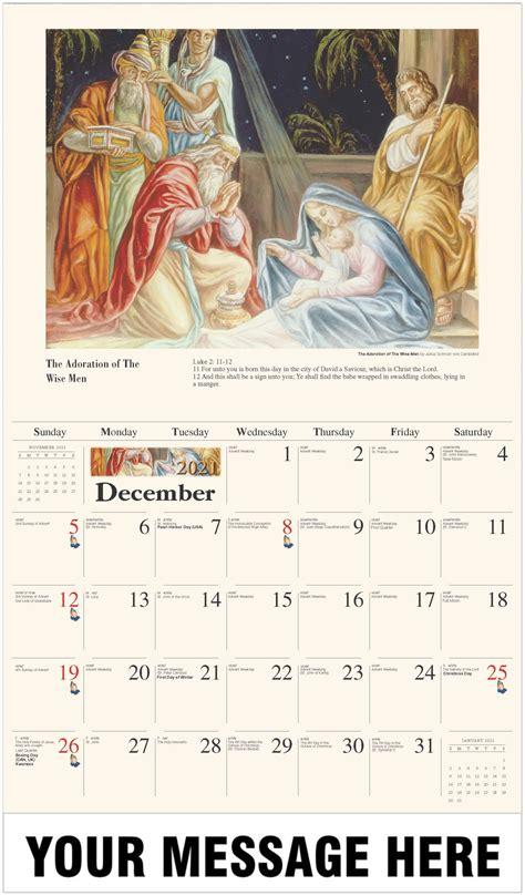 catholic art  promotional calendar fundraising