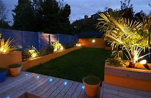 truly innovative garden step lighting ideas garden With katzennetz balkon mit solar led garden lights