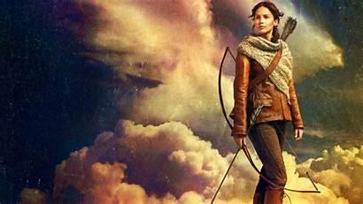 Hunger Games Lawrence Jennifer Katniss Movies Everdeen