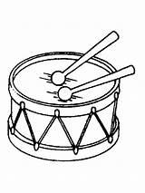 Drum Coloring Printable Mycoloring sketch template