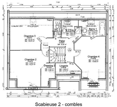 plan maison etage 4 chambres plan de maison etage esquisse 3d plan de maison moderne