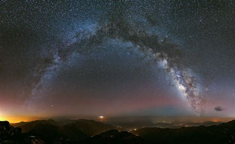 Milky Way Over Morocco Todays Image Earthsky