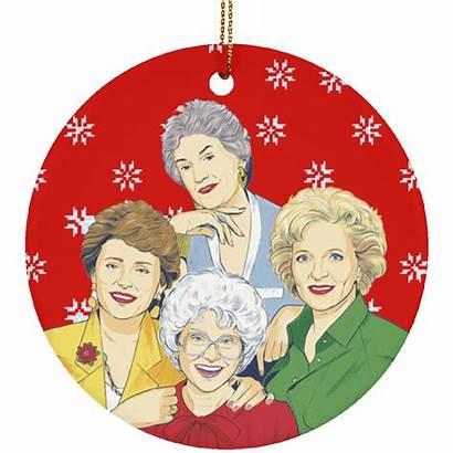 Golden Christmas Ornament Bucktee