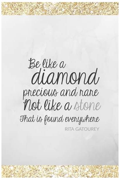 Quotes Jewelry Diamond Sparkle Diamonds Inspirational Glitter